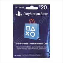 Código Tarjeta Psn Card 20 Usa Vía Email - Para Ps3 Ps4 Vita