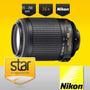 Lente Nikon Af-s Dx 55-200mm Vr + Parasol +funda Nikkor Lens