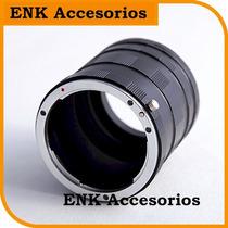 Tubo Extension Macro P/ Nikon D Zona Congreso