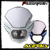 Mascara Faro Acerbis Led Vision Hp Italia 50 Wats Powertech