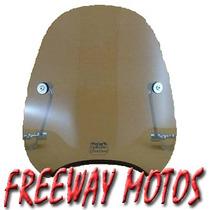 Parabrisa Universal Mini Sport Alto En Freeway Motos !
