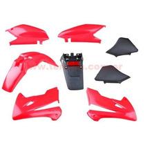 Kit De Plasticos Xr 250 Tornado Rojo 8 Piezas !!