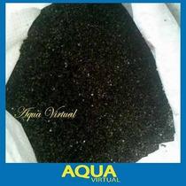 Grava Fina Negra Natural Para Acuarios - 10 Kg