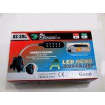 Iluminador De Led Para Acuarios De 20 A 40 Cm Con Clip Sarab