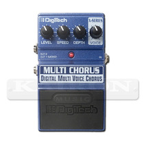 Pedal Digitech Multichorus Multi Voice