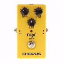 Pedal De Efecto Para Guitarra Eléctrica Nux Ch-3 Chorus