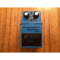 Boss Cs-1 Compressor Sustainer Cs1 Vintage Made Japan 1979