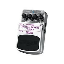 Pedal Behringer Dr400 - Reverb/delay Digital