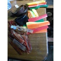 Lote 140 Peines Y Peinetas Distintos Tamaños Y Colores $299