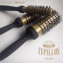 Cepillo Termico Gold Brushing Profesional - Nº6 - 52 Mm.