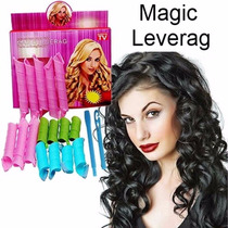 Magic Leverag 18pcs Para Tus Rulos Instantaneos! Bucles