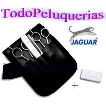 Kit Jaguar Alemania Tijera Corte 82255 + Pulir 83855
