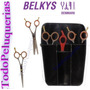 Kit Belkys Tijera De Corte + De Pulir + Navajin + Cartuchera