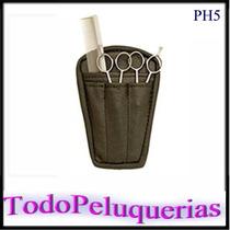 Porta Herramientas Ph5 De Cuerina C/4 Divisiones * Tijera