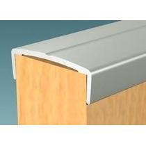 Tapacanto U Aluminio Con Linea X 3mts X 40 Tiras