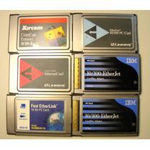 Placas Ethernet 10/100 Pcmcia 16/32bits Linksys,ibm,xircom