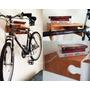 Soporte De Madera Para Bicicleta Incluye Tornillos Pietra