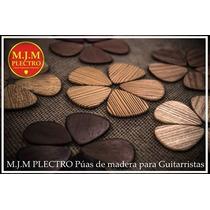 M. J. M Plectro Púas De Madera // Plectros De Selección