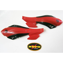 Cubremanos- Protector De Manos Motos Enduro Color Rojo