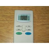 Control Remoto Electra Portatil Frio Calor