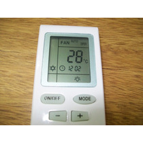 Control Remoto Para Aire Acondicionado Sanyo Frio Calor