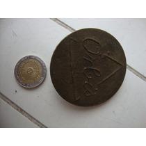 Orbis Tapa De Bronce P/quemador De Cocina 4,8cm De Diametro