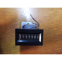 Contador Mecánico 7 Dígitos 12 Vdc