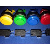 Boton Eago Completo Con Micro Zippy Arcade