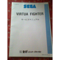 Manual Arcade Sega Virtua Fighter 1 Original Impecable!.