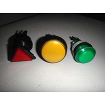 Boton Luminoso Triangular Arcades Mame Fonola Tragamonedas