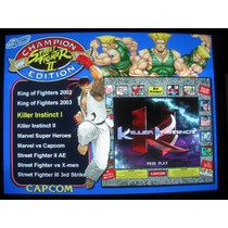 Kit Multijuegos - Video Juegos Arcade - Mame - Consolas