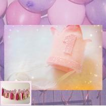 Corona Bebe Cumpleaños Eventos