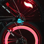 Luces Bicicleta Para Los Rayos - Importadas