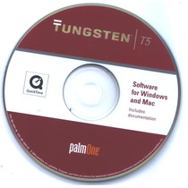 Cd Original Handheld Palm Tungsten T5
