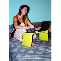 Mesa Notebook,portatil,plegable,soporte Netbook,base De Cama