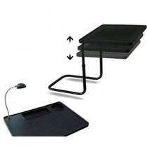 Mesa Portatil Para Notebook Desayunador Cama Luz Regulable