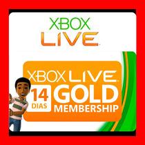 Xbox Live Gold 14 Días - Código Regíón Libre - Mejor Precio