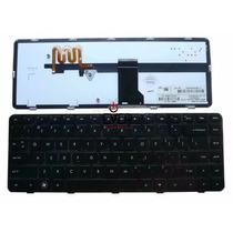 Teclado Notebook Hp Dm4 Dm4-1000 Dv5 Dv5-2000 Black Us C/luz