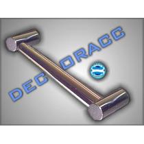 Agarradera Para Baño Exclusiva 100% Bronce Cromado Promoción