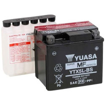 Bateria Motos Yuasa Ytx5l-bs Honda Biz 125 Cg Titan Elite Xr