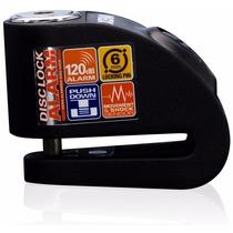 Candado Traba Disco Xena Alarma Modelo Xx6 Black Devotobikes