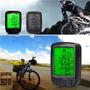 Velocimetro Computadora Bicicleta Impermeable Luz De Fondo