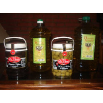 Aceite De Oliva Olivares Riojanos 5 Litros Extra Virgen