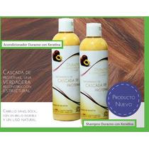 Acondicionador Y Shampoo De Durazno Con Keratina