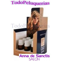 9 Ampollas Olio Keratina Pelo + Pelo Anna De Sanctis X 15ml