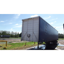 Acoplar Curtain Sider 2 Ejes - 14.8 Mts - 28 Pallets - 2013