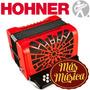 Hohner A4822s Acordeón Diatónico Compadre 31 Teclas 12 Bajos