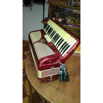 Acordeon A Piano Fratti 120 Bajos 5 Registros