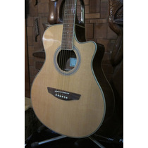 Guitarra Acustica Parquer Gac110mc Tipo Yamaha Apx Stock!