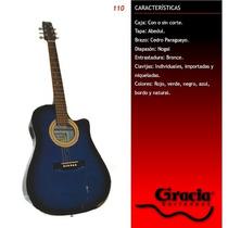Guitarra Electroacustica Gracia Modelo 110 Eq Ecualizador